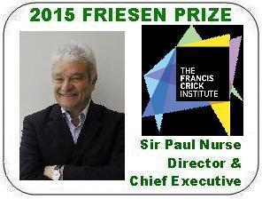 2015 Friesen Prize - Sir Paul Nurse